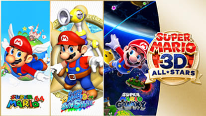 Visit the Super Mario 3D All-stars game detail page