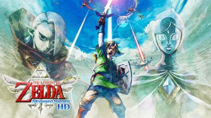 The Legend of Zelda Skyward Sword HD - Já disponível