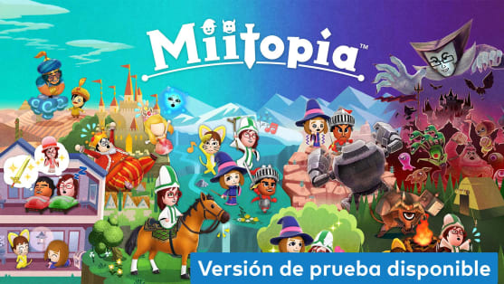 Miitopia - Juegos con versión de prueba