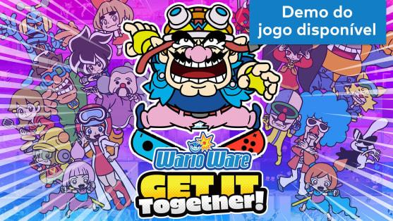 WarioWare: Get it Together! - Versão demo gratuita disponível