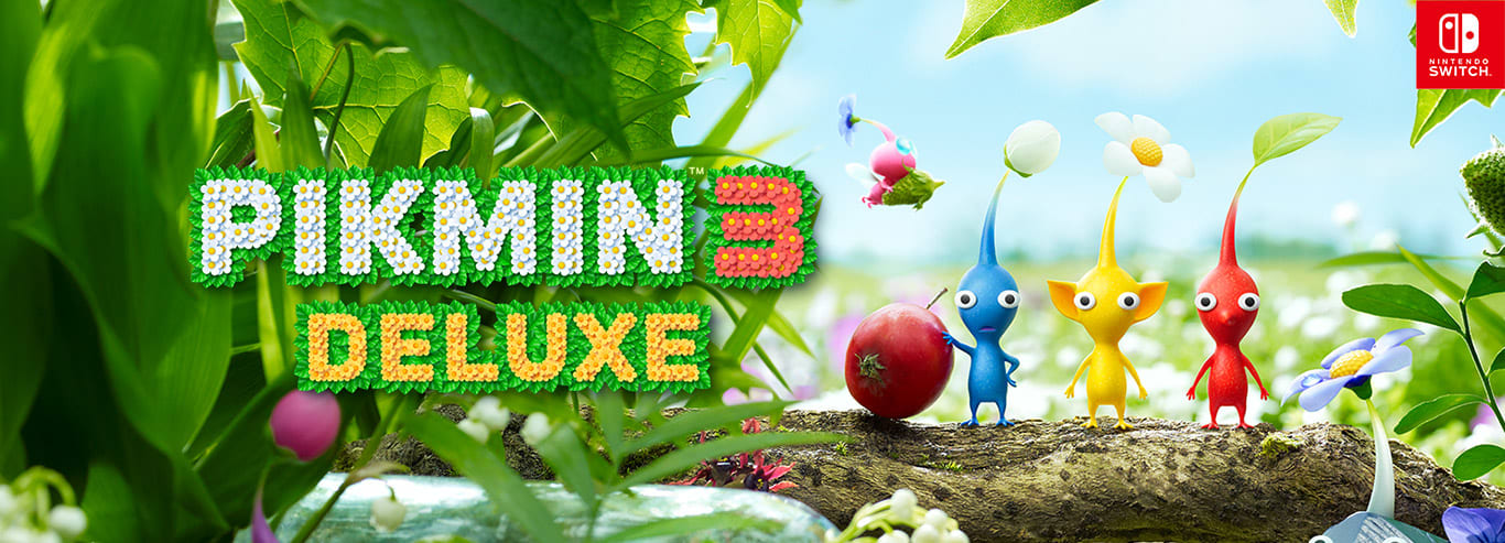 Visit the Pikmin 3 Deluxe game detail page