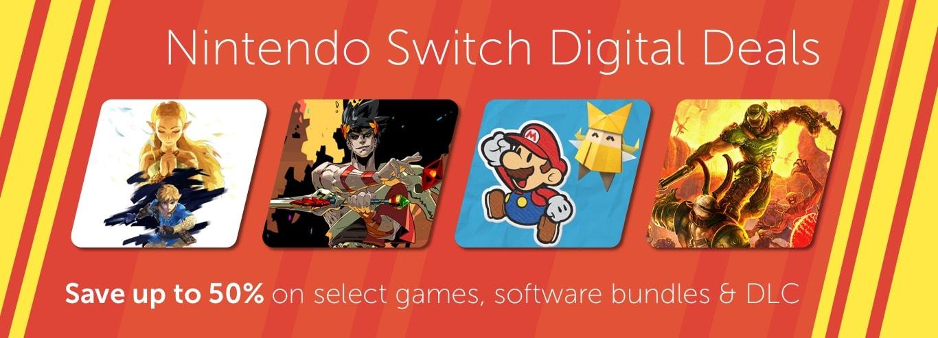 Nintendo Switch Digital Deals - Sale ends 6/21 at 11:59 p.m. PT