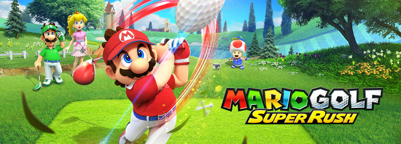 Mario Golf Super Rush - Pre-order digitally now—play at launch