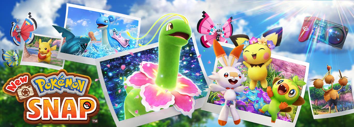 New Pokémon Snap - Já disponível