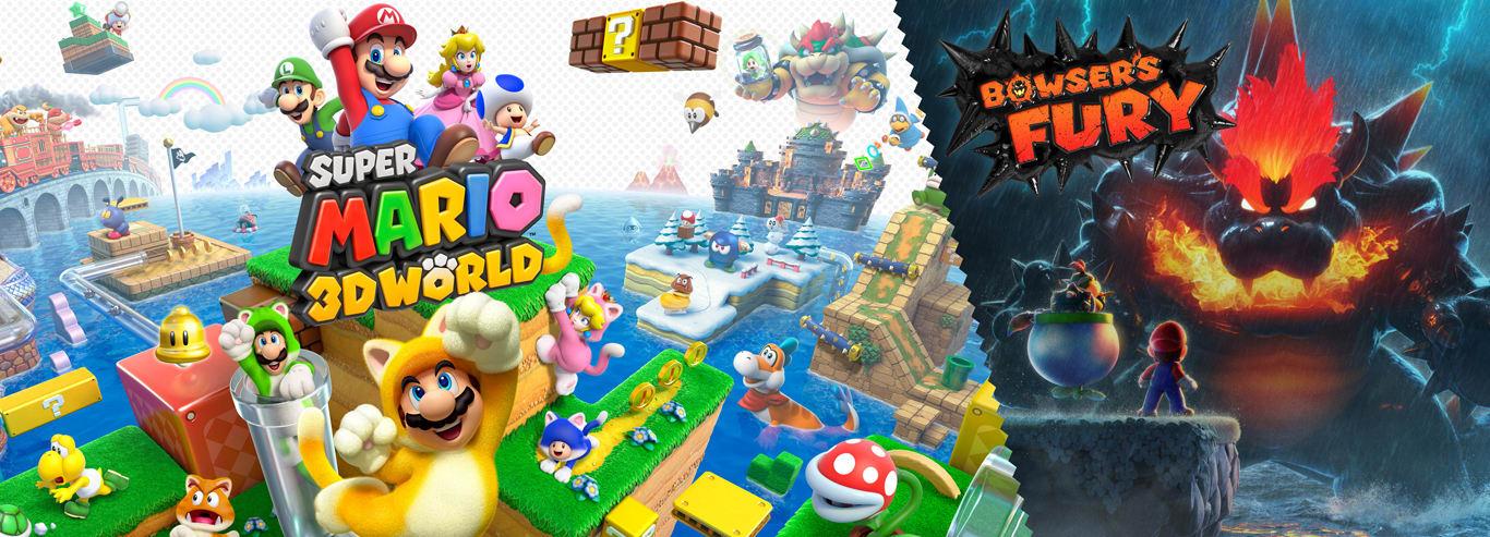 Super Mario 3D World + Bowser's Fury - Disponible maintenant
