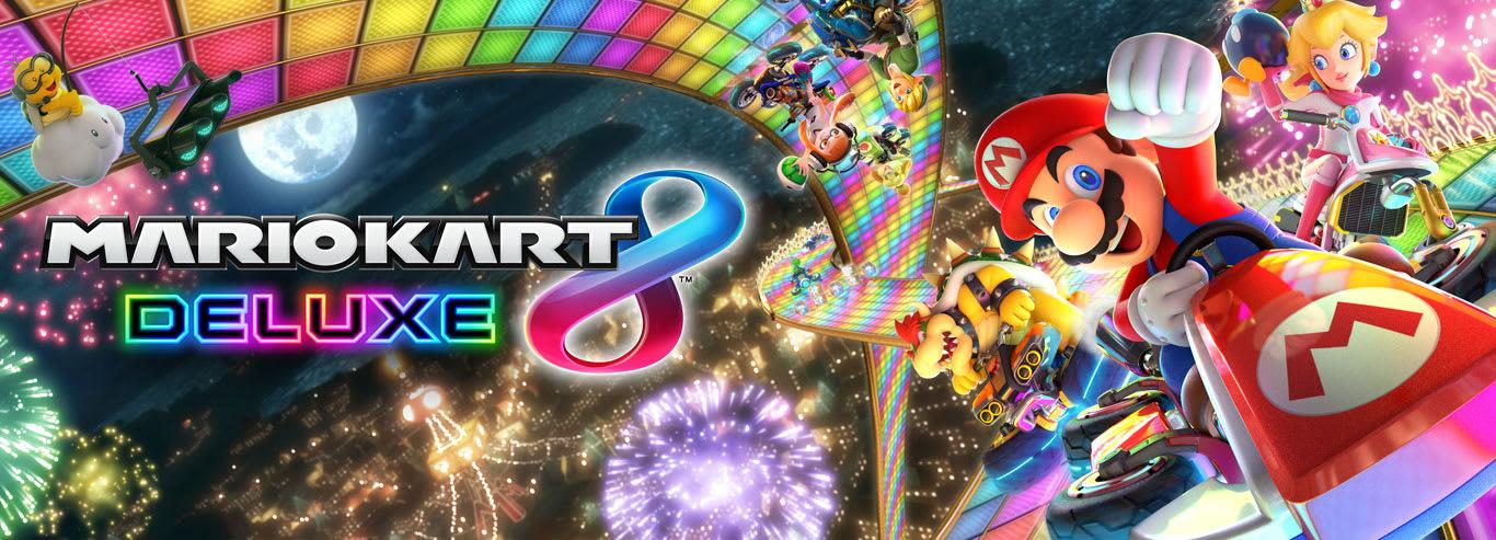 Visite o site Mario Kart 8