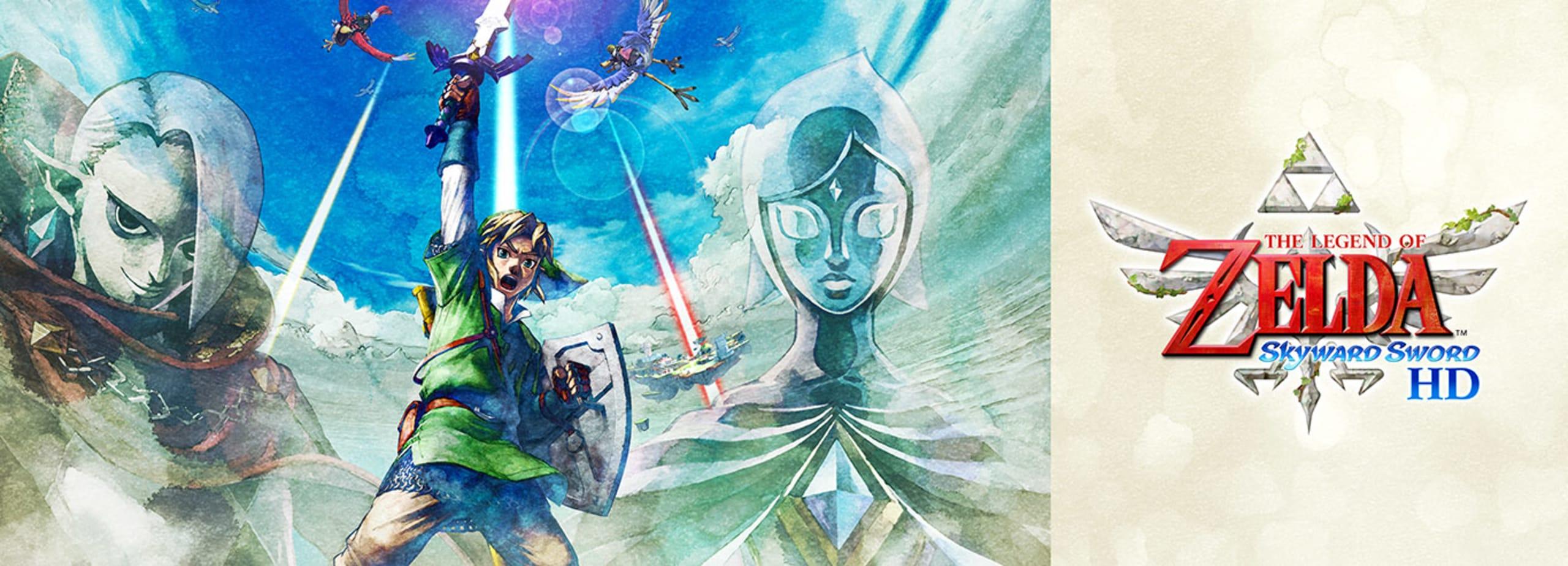 The Legend of Zelda: Skyward Sword HD - Já disponível