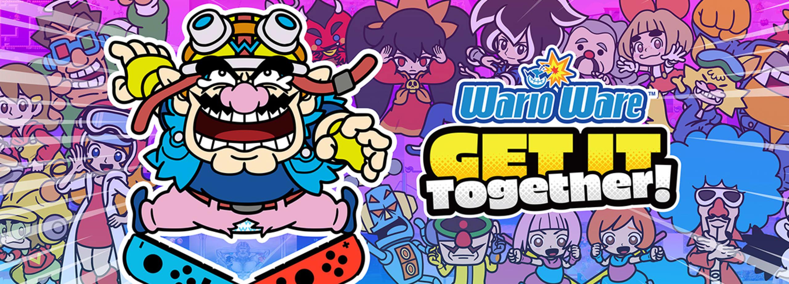 WarioWare: Get it Together! - Disponible maintenant