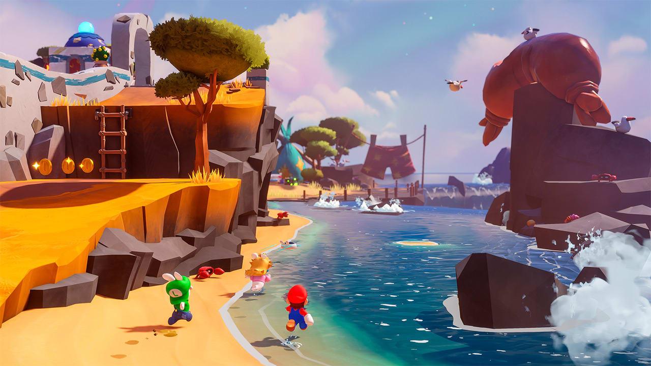 Mario and Rabbids Sparks of Hope Gameplay Screenshot