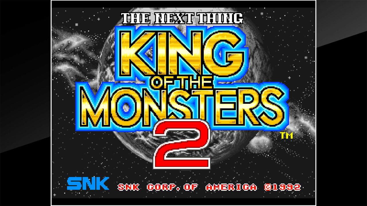 魔兽之王2(ACA NEOGEO KING OF THE MONSTERS 2)插图5