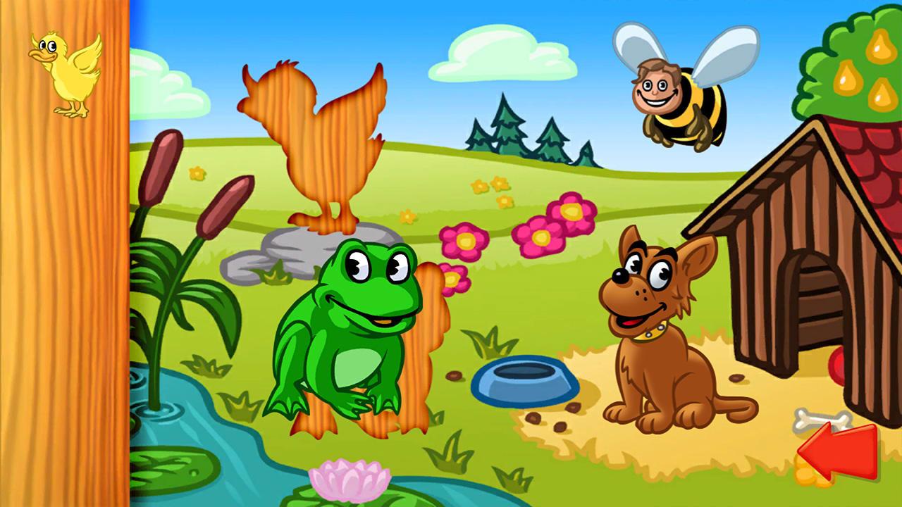 动物拼图(Animal Puzzle: Preschool Learning Game for Kids and Toddlers)插图1