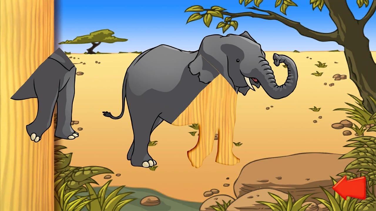 动物拼图(Animal Puzzle: Preschool Learning Game for Kids and Toddlers)插图2