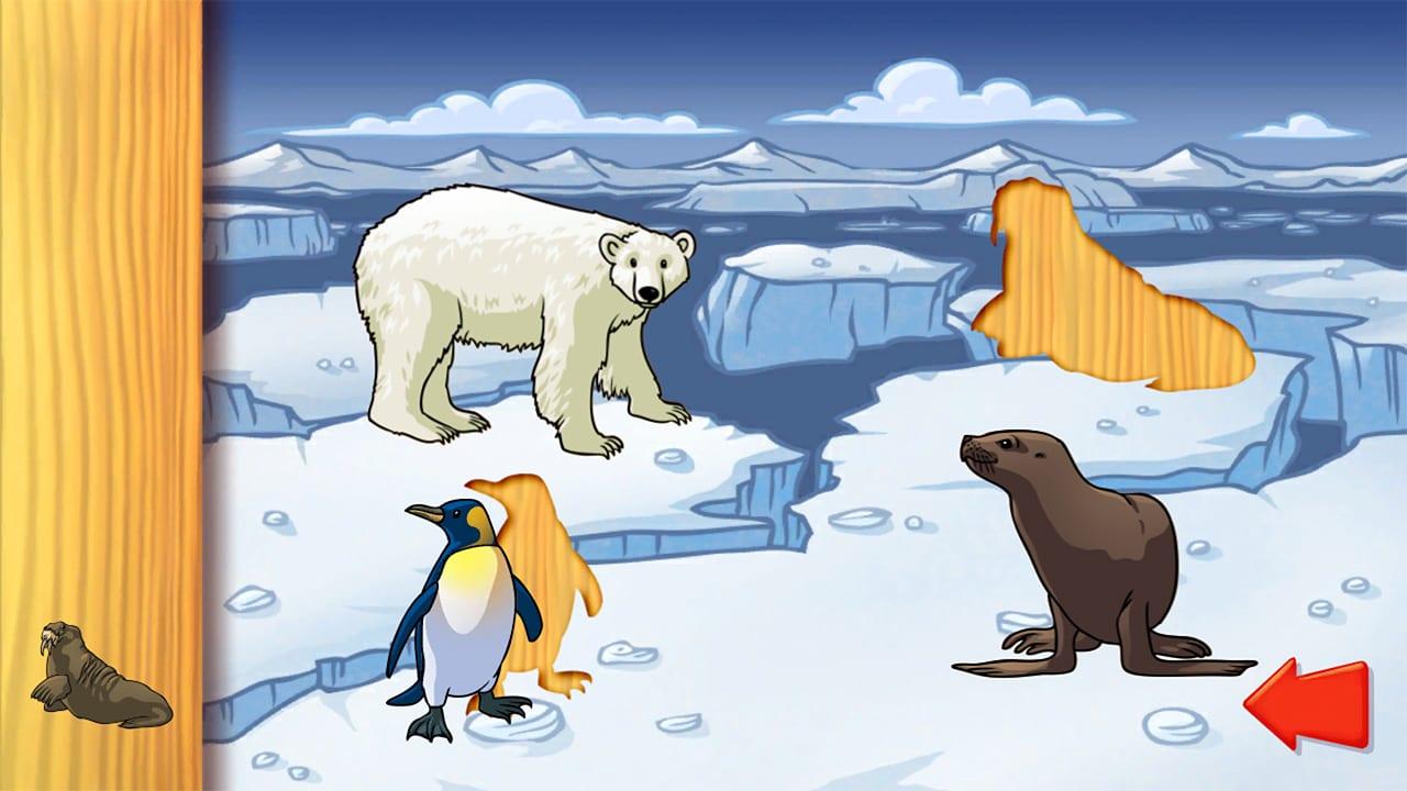 动物拼图(Animal Puzzle: Preschool Learning Game for Kids and Toddlers)插图3