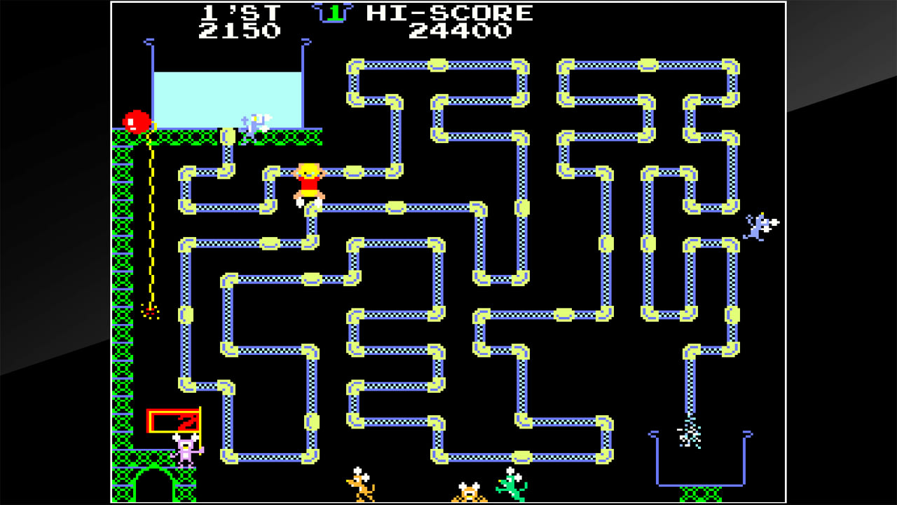 街机博物馆:水管工汤姆(Arcade Archives Frisky Tom)插图1