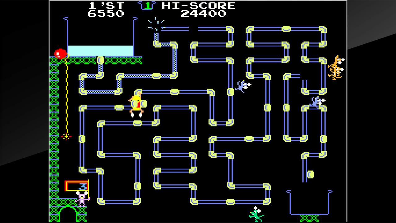 街机博物馆:水管工汤姆(Arcade Archives Frisky Tom)插图2