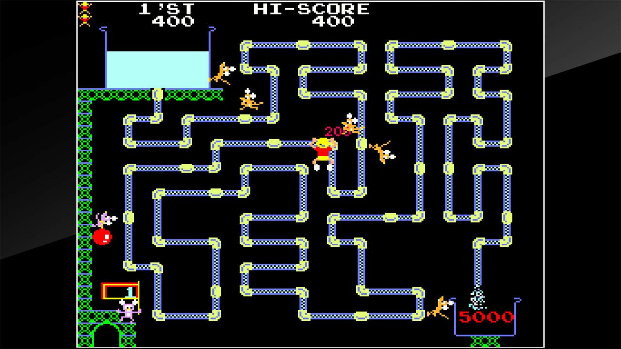 街机博物馆:水管工汤姆(Arcade Archives Frisky Tom)插图3