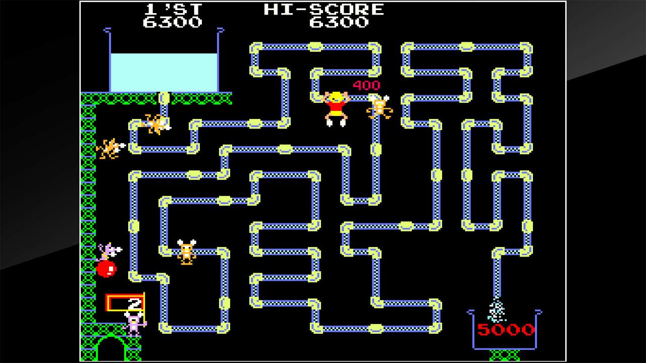 街机博物馆:水管工汤姆(Arcade Archives Frisky Tom)插图4