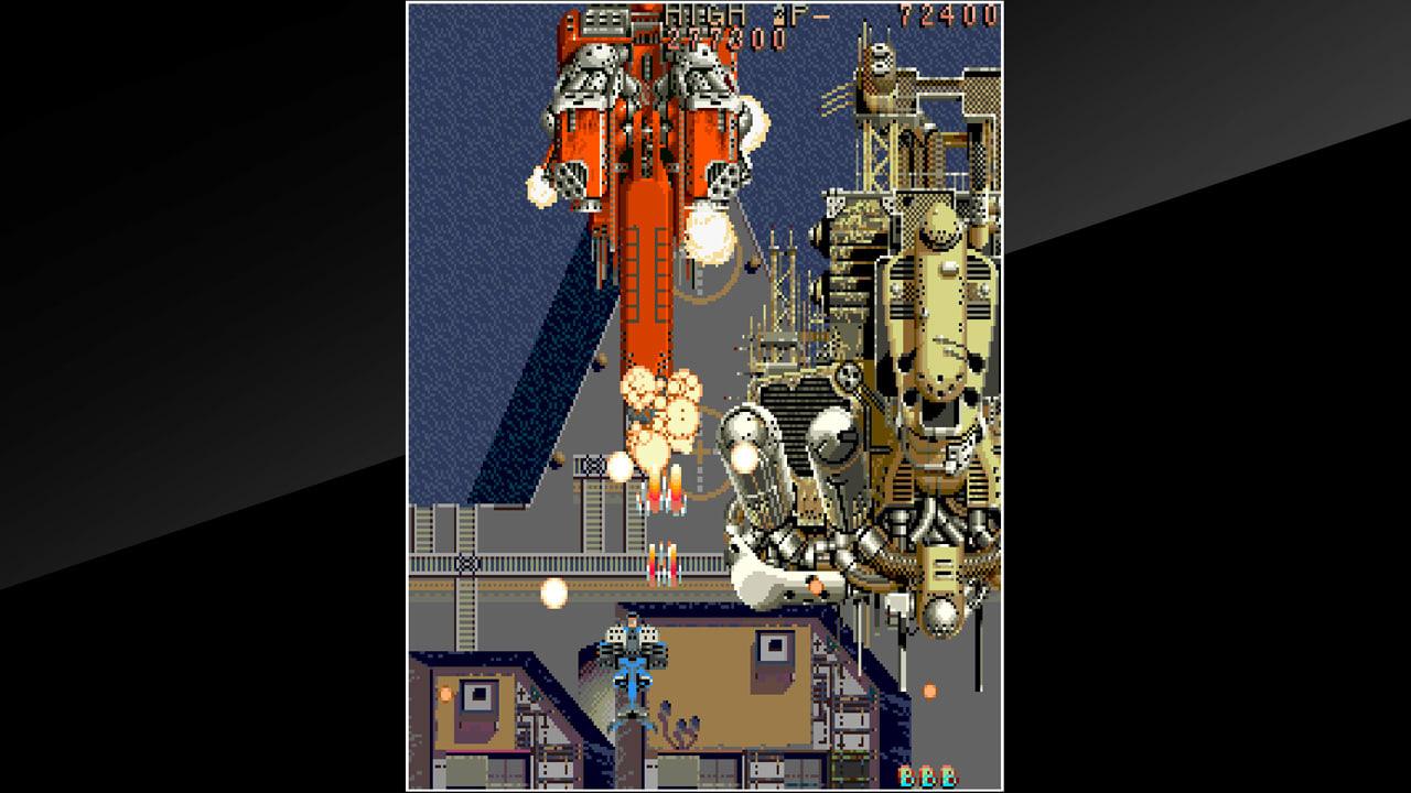 街机博物馆:雷龙(Arcade Archives THUNDER DRAGON)插图4