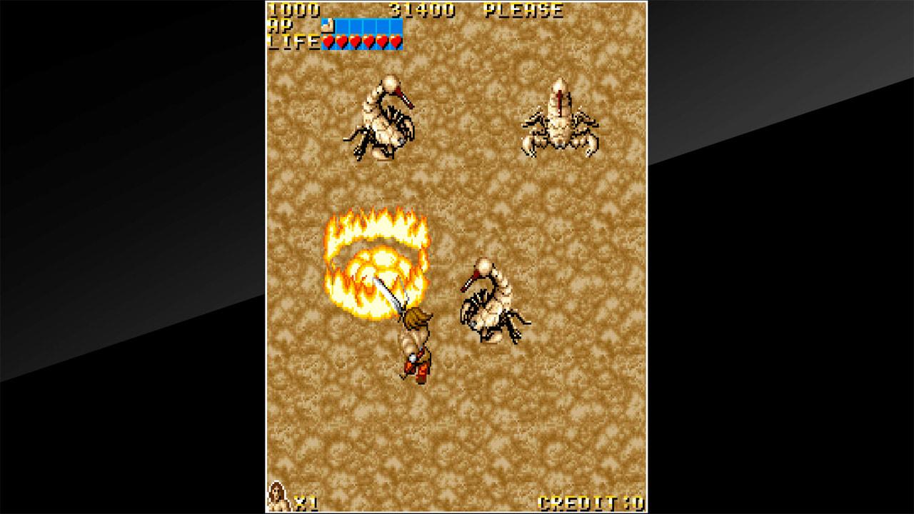 街机博物馆:神话战士(Arcade Archives VANDYKE)插图
