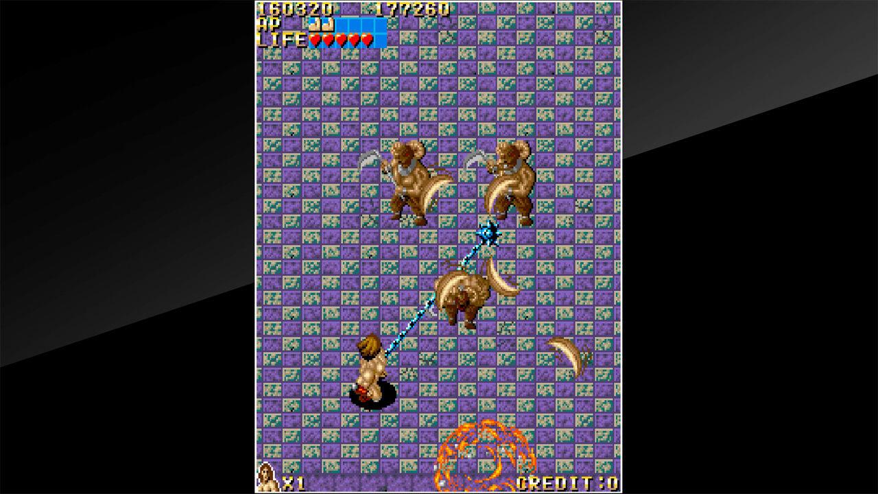 街机博物馆:神话战士(Arcade Archives VANDYKE)插图2