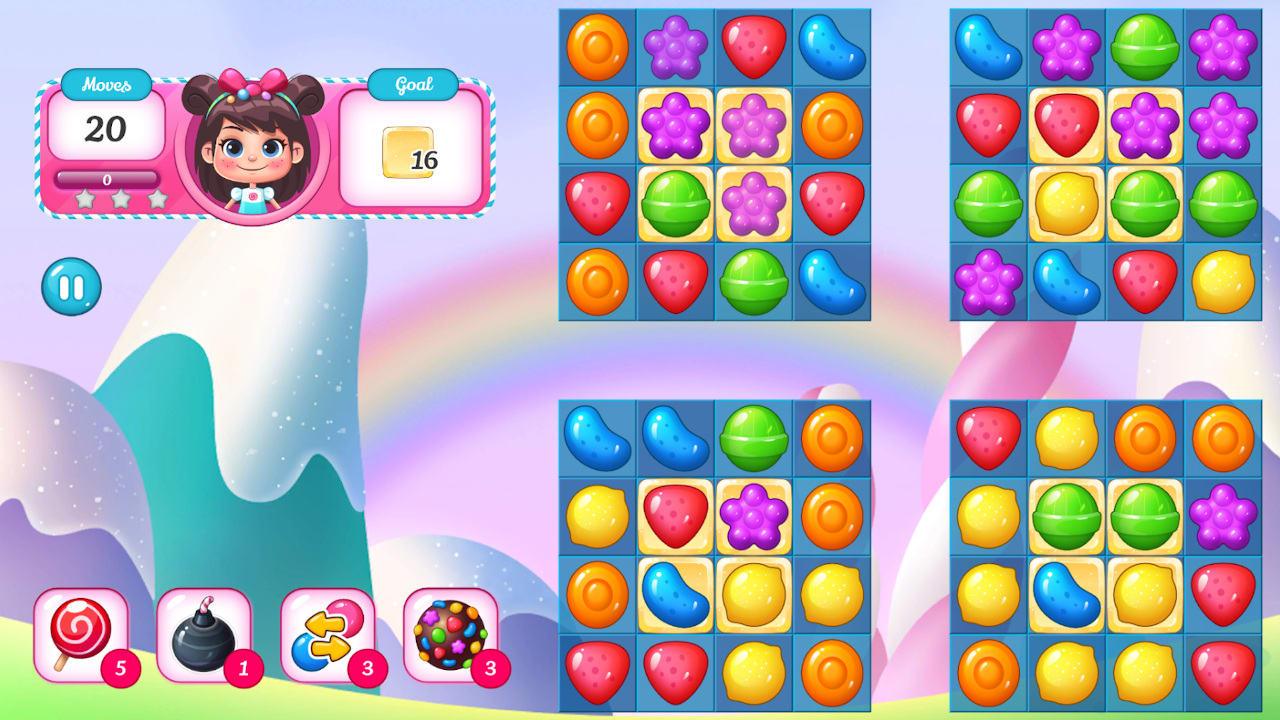 糖果萌萌消(Candy Match Kiddies)插图2