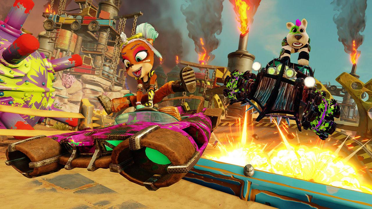 Buy Nintendo Switch CTR - Crash Team Racing Nitro Fueled