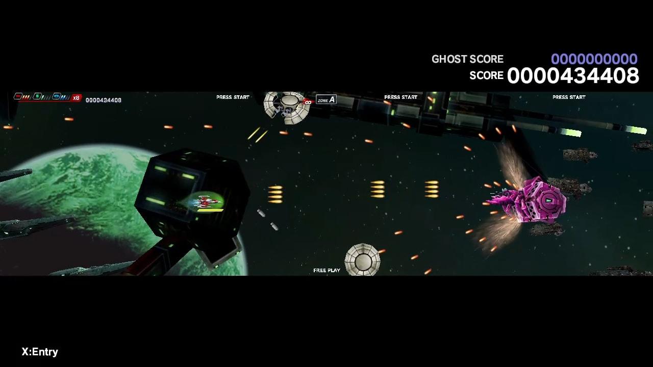 太空战斗机:奔雷行动 另一个年代记 EX+ (Dariusburst EX+)插图