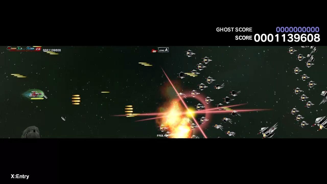 太空战斗机:奔雷行动 另一个年代记 EX+ (Dariusburst EX+)插图1