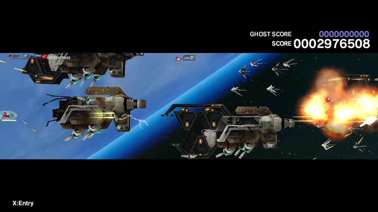 太空战斗机:奔雷行动 另一个年代记 EX+ (Dariusburst EX+)插图2