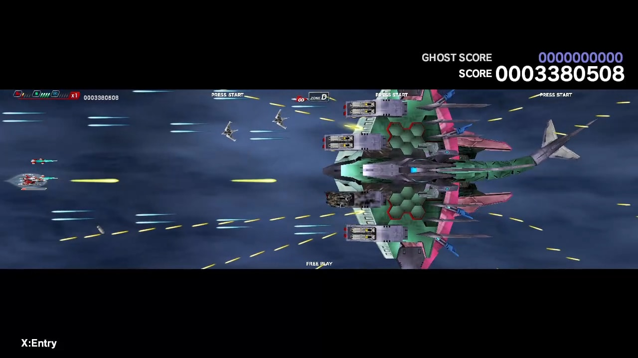 太空战斗机:奔雷行动 另一个年代记 EX+ (Dariusburst EX+)插图3