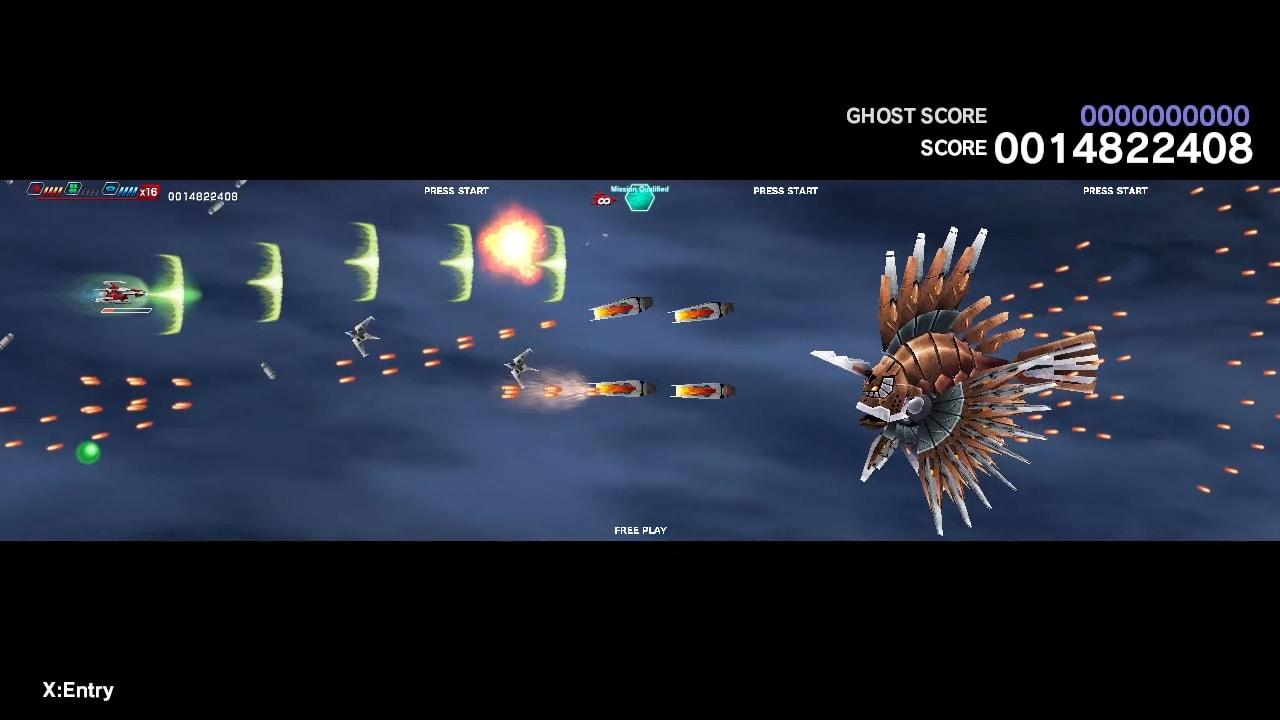 太空战斗机:奔雷行动 另一个年代记 EX+ (Dariusburst EX+)插图4