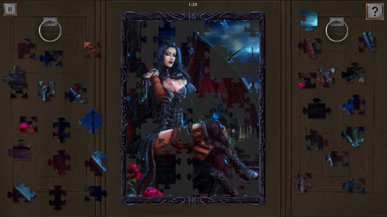 黑暗幻想:拼图(Dark Fantasy: Jigsaw Puzzle)插图
