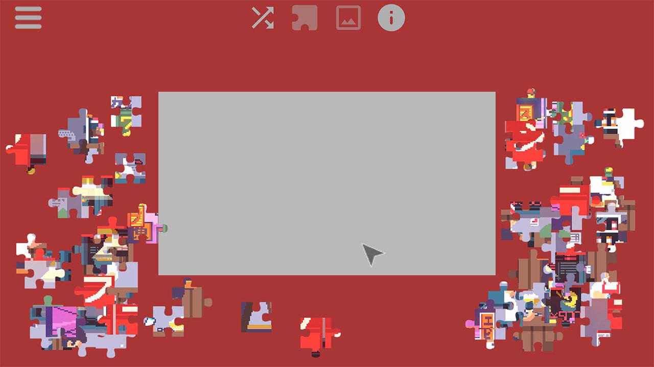 日本的日常生活-动画拼图(Daylife in Japan – Pixel Art Jigsaw Puzzle)插图2