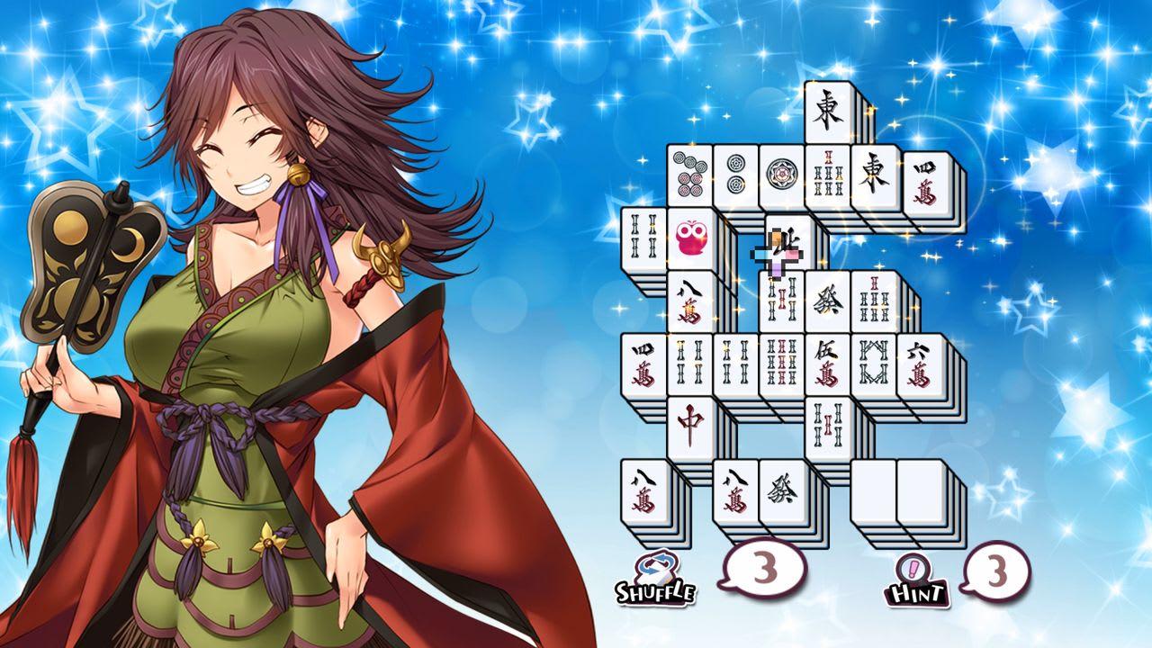 美味!美少女麻将接龙(Delicious! Pretty Girls Mahjong Solitaire)插图3