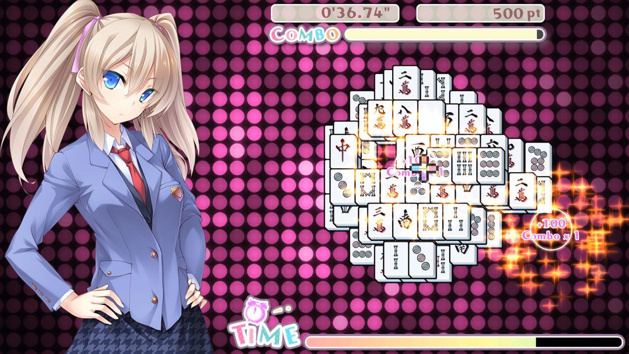 美味!美少女麻将接龙(Delicious! Pretty Girls Mahjong Solitaire)插图4