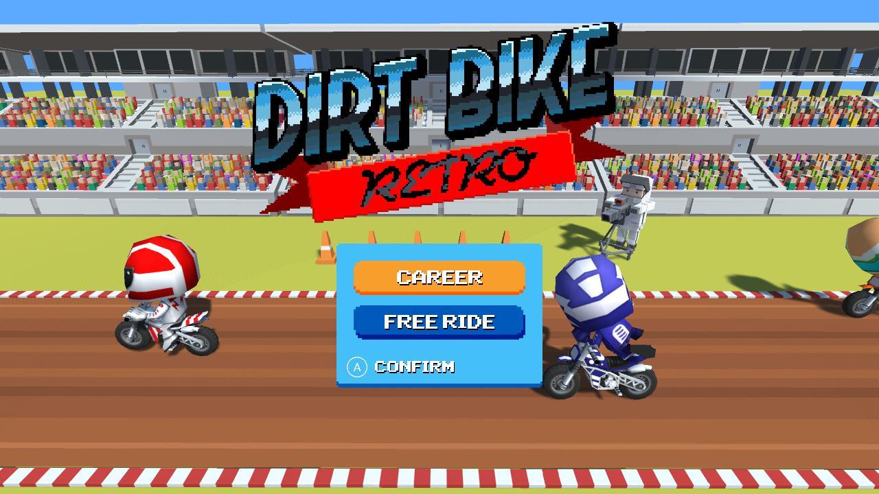 越野机车(Dirt Bike Retro)插图