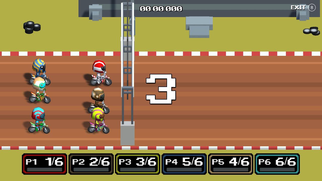 越野机车(Dirt Bike Retro)插图1
