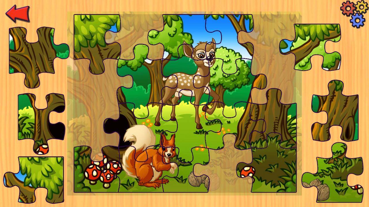 农场动物拼图(Funny Farm Animal Jigsaw Puzzle Game for Kids and Toddlers)插图