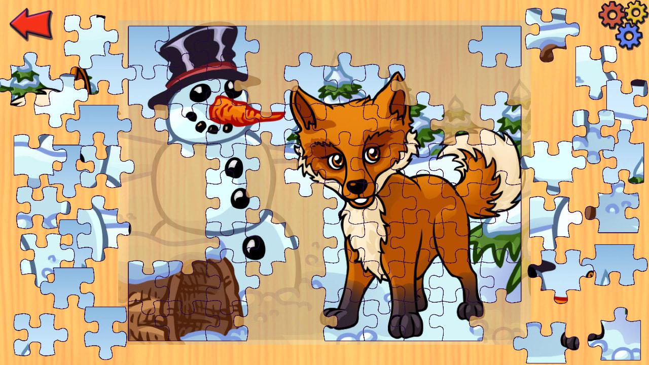 农场动物拼图(Funny Farm Animal Jigsaw Puzzle Game for Kids and Toddlers)插图2