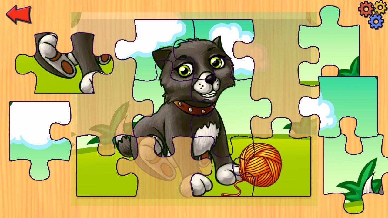 农场动物拼图(Funny Farm Animal Jigsaw Puzzle Game for Kids and Toddlers)插图3