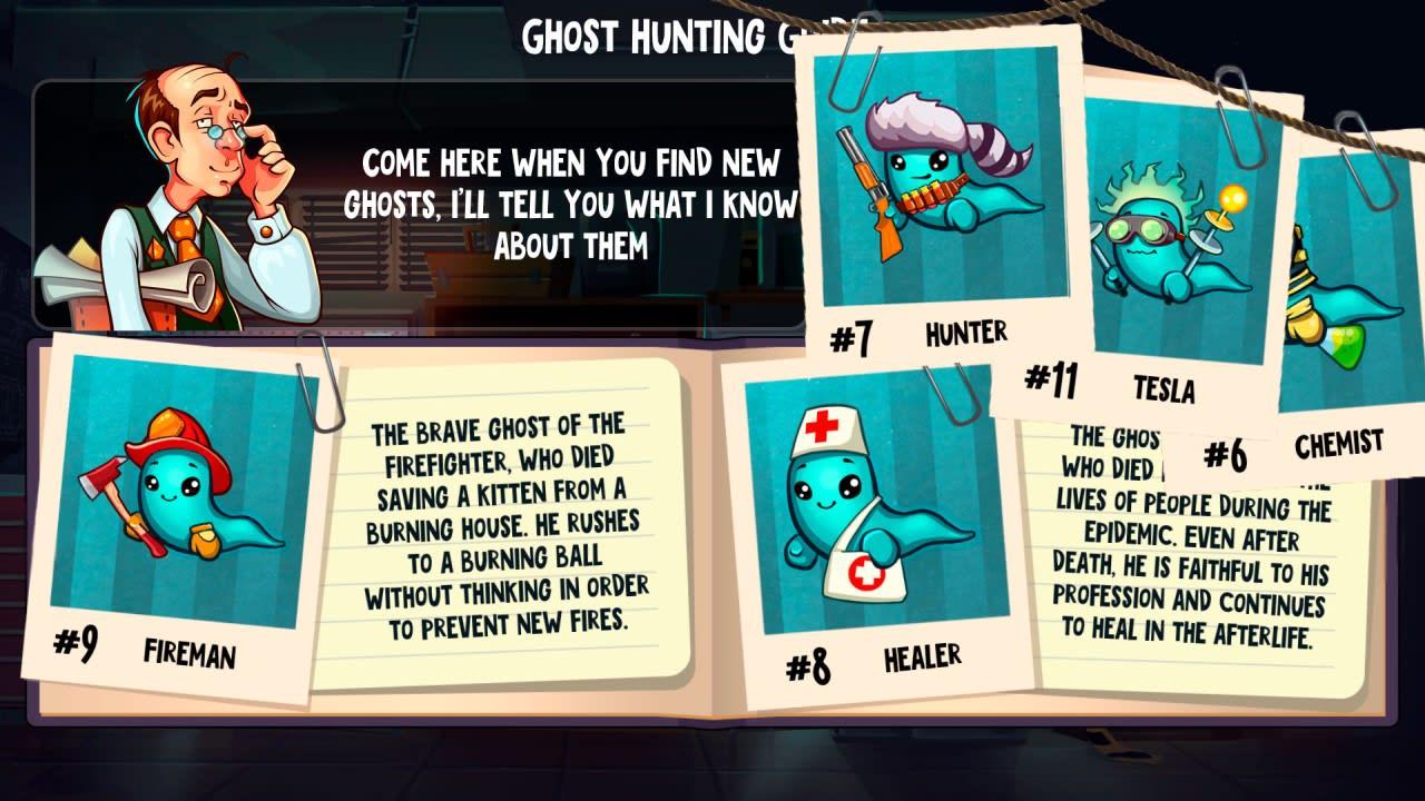 幽灵逃脱(Ghostanoid)插图1