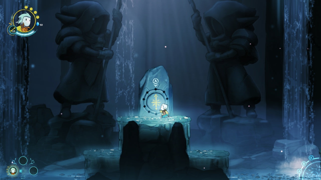 格瑞克:蓝色的记忆(Greak: Memories of Azur)插图