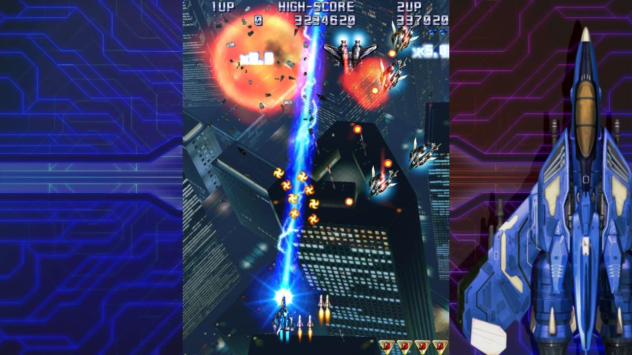雷电4 x 米卡多 混音版(Raiden IV x MIKADO remix)插图1