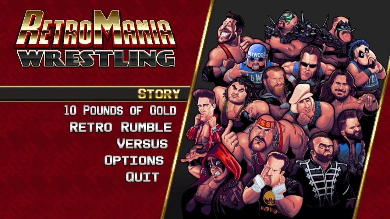 疯狂复古摔跤(RetroMania Wrestling)插图