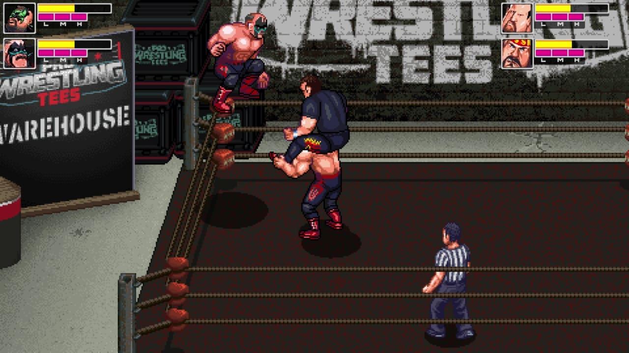 疯狂复古摔跤(RetroMania Wrestling)插图2