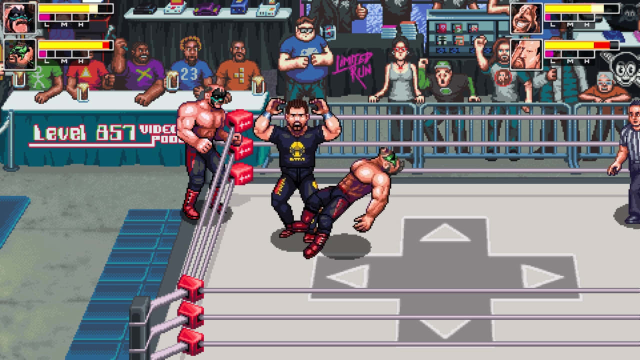 疯狂复古摔跤(RetroMania Wrestling)插图3