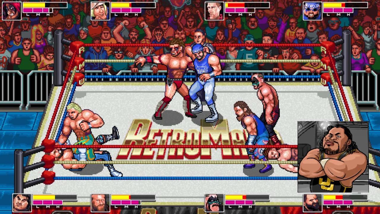 疯狂复古摔跤(RetroMania Wrestling)插图4