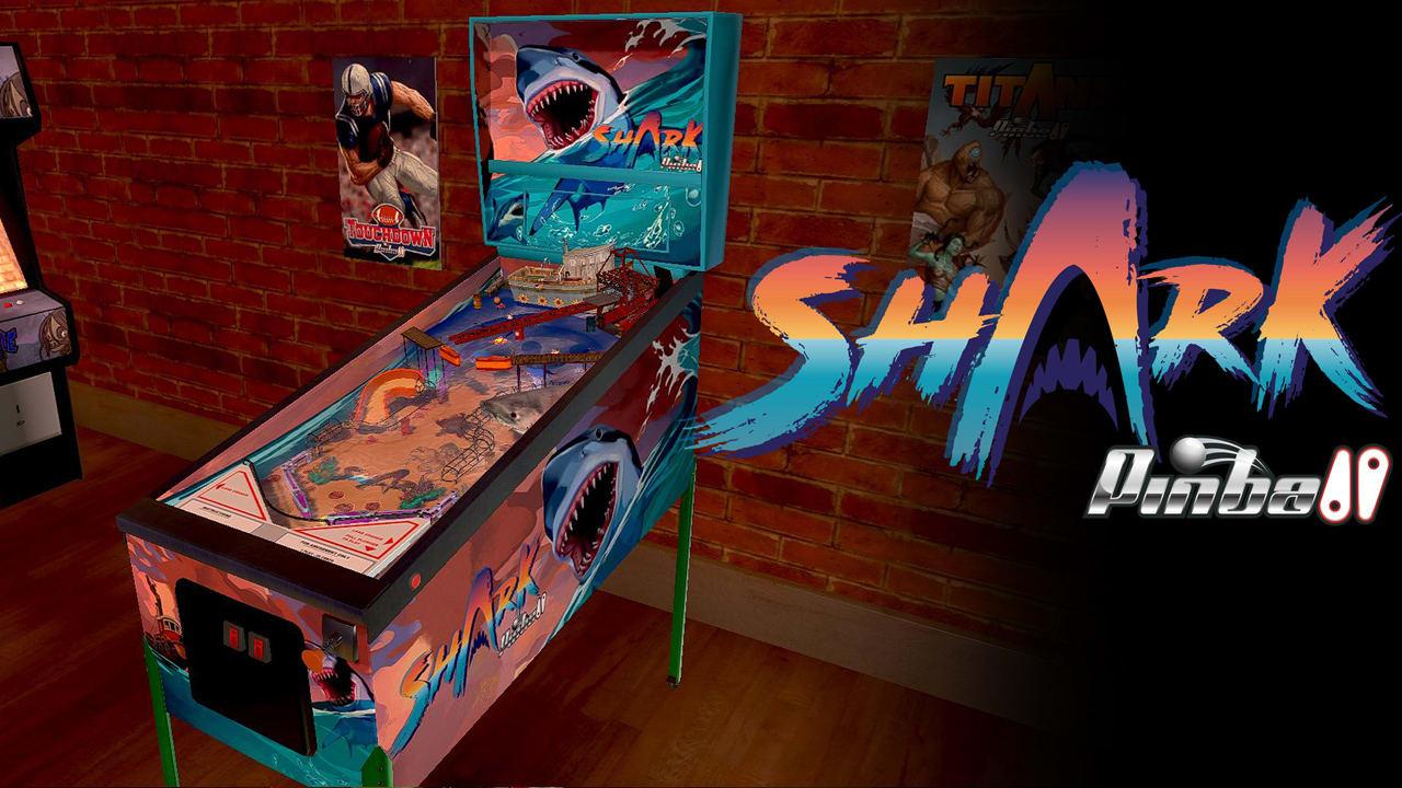 鲨鱼弹珠台(Shark Pinball)插图