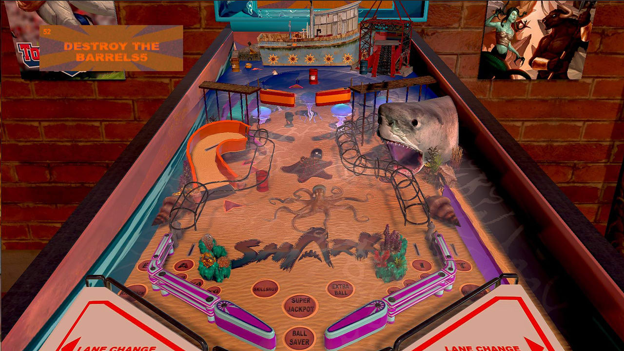 鲨鱼弹珠台(Shark Pinball)插图1