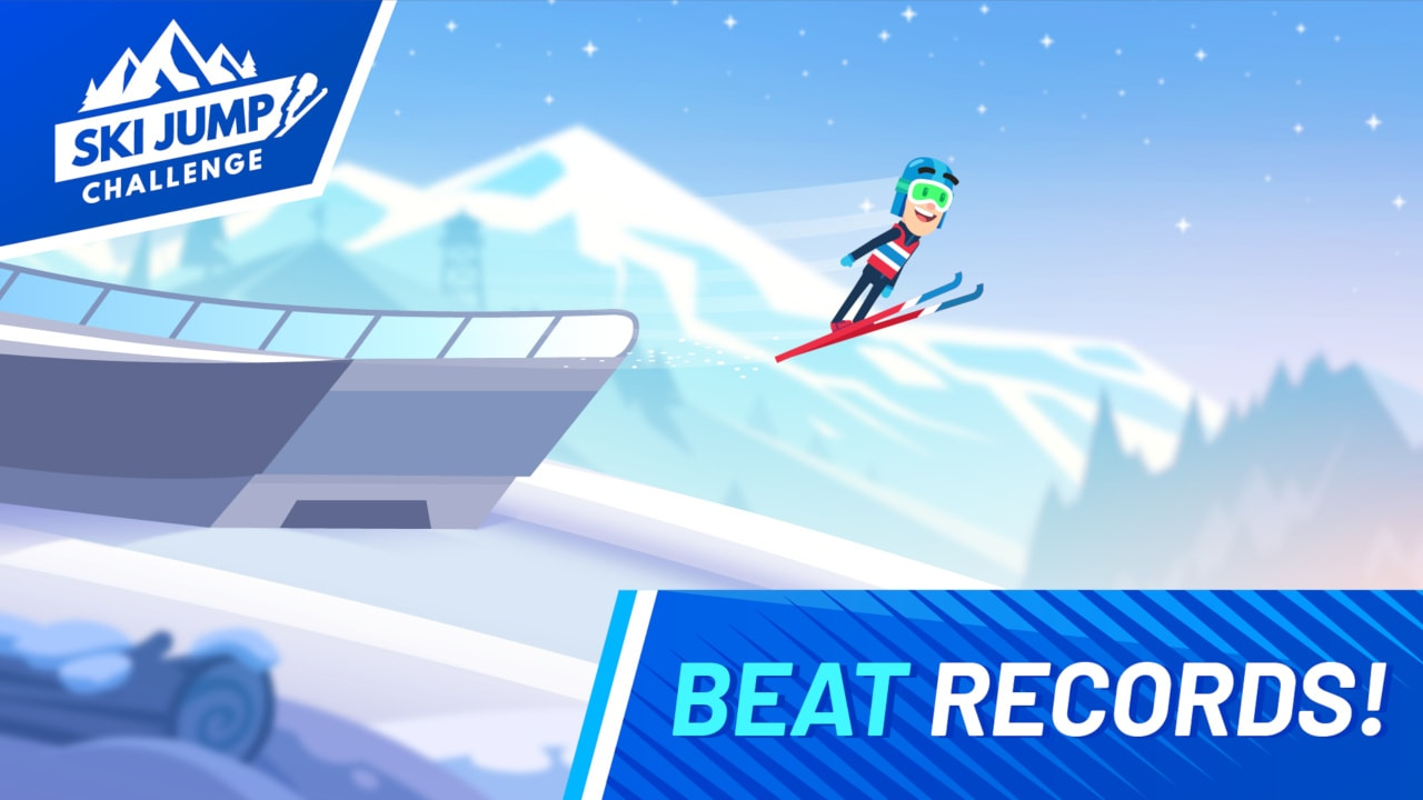 跳台滑雪挑战赛(Ski Jump Challenge)插图